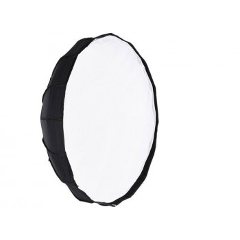 White Interior Collapsible Beauty Dish Softbox Honeycomb Grid Bowens 80cm
