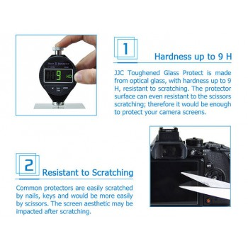 Ultra-thin Professional Glass LCD Screen Protector for Canon EOSR