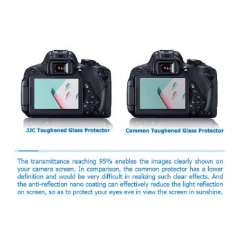 Ultra-thin Professional Glass LCD Screen Protector for Canon SX70HS SX60HS
