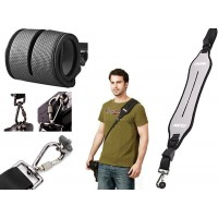 Quick Rapid Shoulder Camera Strap - Grey