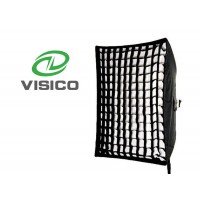 Softbox with egg crate grid 80x120 for Bowens S mount