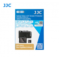 JJC Ultra-thin Glass LCD Screen Protector for Fujifilm X-Pro3