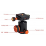 SIDELANGBOLI SL550 aluminum panoramic ball head for Camera Tripods