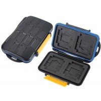 Memory Card Case Holder For 4CF 4SD 4XD 4MS