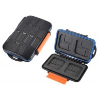 Memory Card Case Holder 4CF 8XD 8Micro SD Cards
