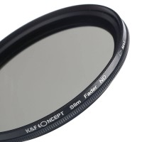 K&F Concept Professional ND2 to ND400 Variable 62mm Filter