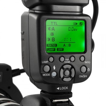 K&F TTL Macro Ring Flash for Canon EOS
