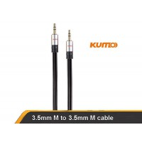 Kumo Elite Series Installer grade  3.5mm male 5m cable for iphone smartphone etc