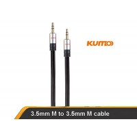 Kumo Elite Series Installer grade  3.5mm male 3m cable for iphone smartphone etc