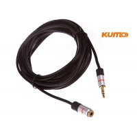 Kumo Elite Series 3.5mm male female extension lead
