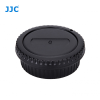 JJC Front and Rear Lens body Cap for Canon EOS EF EF-S Mount