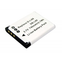 Battery for Sanyo DB-L80 High Capacity