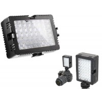 LED-48D LED Light for universal DSLR and Video Camera with hot shoe adapter
