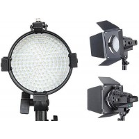 Studio Video Led Light with Dimmer and Barndoor