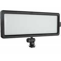 Softlight LED video light LEDP-144 Bi-Color Rectangular with flash shoe adapter
