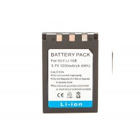 Li-10B Battery For Olympus 1200mAh