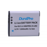 Durapro Camera Battery For Olympus Li-50B D-LI92