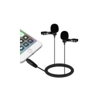 Boya BY-LM400 Professional Dual Lavalier Microphone