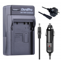 Durapro Car and Wall Charger for Canon LP-E8