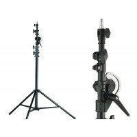 Quality professional photographic studio boom and light stand in 2 in 1