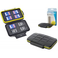 Waterproof Extremely tough 8x SD Memory Card Case