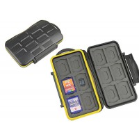 Memory Card Case For 12SD Cards & 12 Micro SD Card