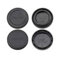 Front and Rear Lens Cap for micro 4/3 M4/3 Lens Camera