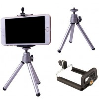 Mini Tripod Stand Mount Holder for Samsung Galaxy and iPhone and all smartphones