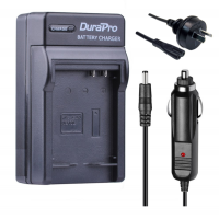 Durapro Car and Wall Charger for Canon NB-10L