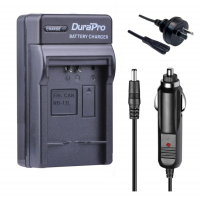 Durapro Car and Wall Charger for Canon NB-13L