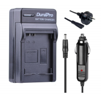 Durapro Car and Wall Charger for Canon NB-1L