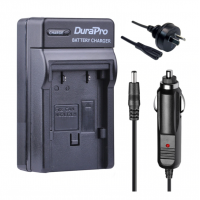 Durapro Car and Wall Charger for Canon NB-2L 350D 400D