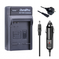 Durapro Car and Wall Charger for Canon NB-4L NB-6L NB-8L