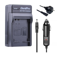 Durapro Car and Wall Charger for Canon NB-5L