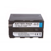 Battery NP-F970 NP-F960 for Sony powerful 7200mAh