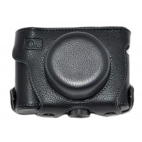 Quality Leather Camera Case for PANASONIC DMC-GF2