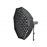 Octagonal Softbox with Grid for Bowens S mount 120cm
