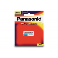 Genuine Panasonic Quality CR-123A Photo Lithium 3V Camera Battery 1 Pack
