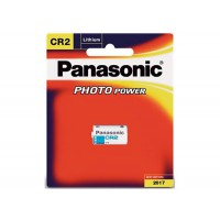 Genuine Panasonic Quality CR-2 Photo Lithium 3V Camera Battery 1 Pack