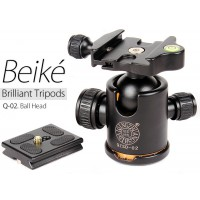 Beike Q-02 Professional Tripod Fluid Ball Head