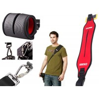 Quick Rapid Shoulder Camera Strap - Red