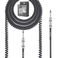 Mophead 6m Coiled Guitar and Instrument cable