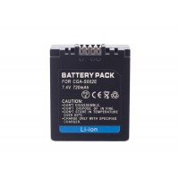High Quality Replacement Battery For Panasonic CGA-S002 DMW-BM7
