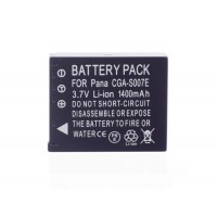 Battery For Panasonic CGA-S007 CGA-S007e