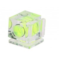 Single Axis Bubble Hot Shoe Spirit Level for DSLR