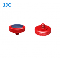 JJC Deluxe Soft Release Button Red Blue