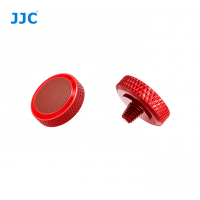 JJC Deluxe Soft Release Button Red Brown