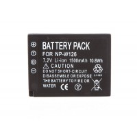 Fujifilm NP-W126 Battery for HS30. 1500mAh