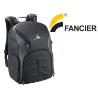 Fancier Professional Quality Travel Backpack Camera Bag for Cameras and Laptop