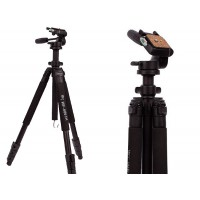 Medium Video Camera Tripod 3-way Pan Head With Bag